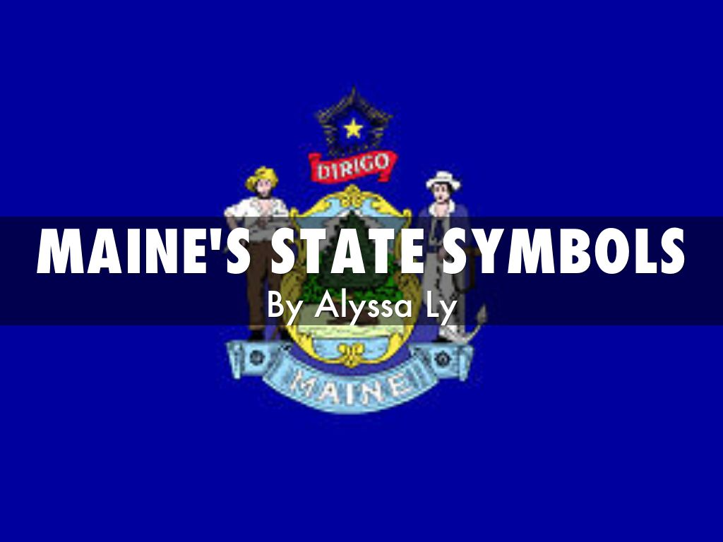 Maines State Flower MAine's State Symbols ...