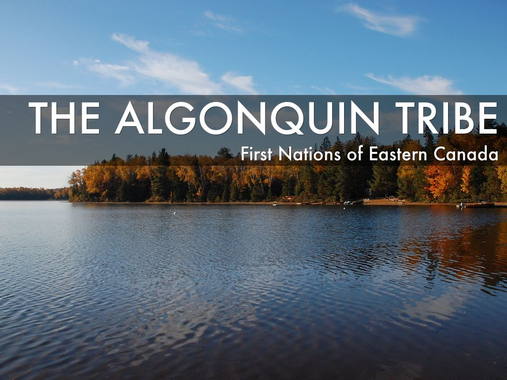 algonquin tribe The first native peoples encountered by european settlers in the new world were algonkian tribes, speaking variants of the algonquin language group while initially relatively friendly.