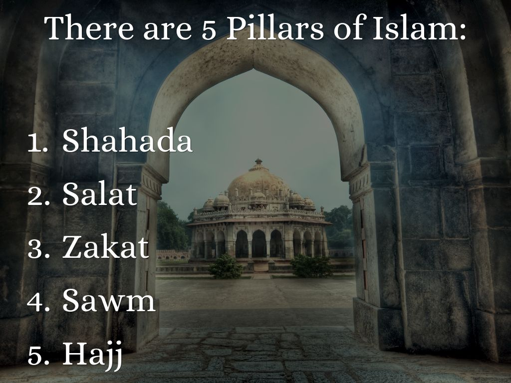 the five pillars of islam song by missdiazclass