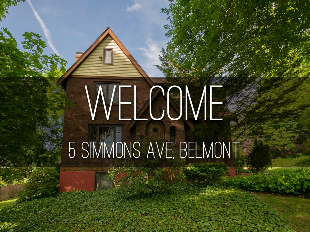5 Simmons Ave, Belmont