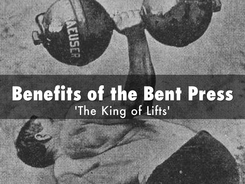 Copia de Benefits of The Bent Press