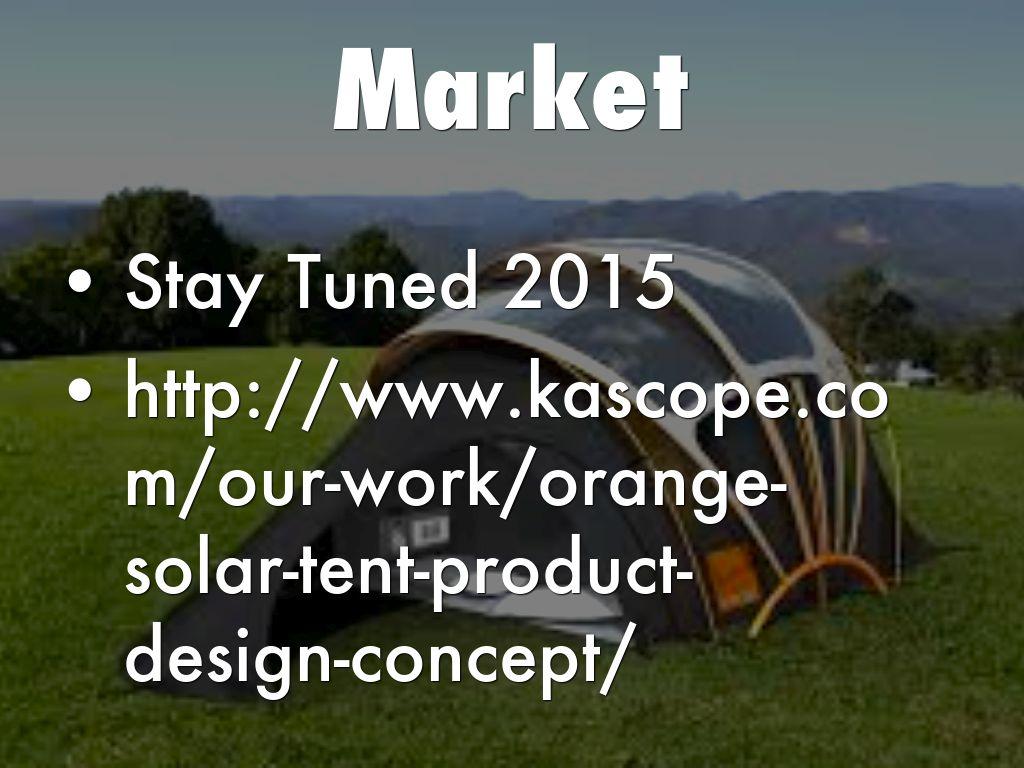 Energy Control & Solar Tent by ahmed.m.hamidaddin