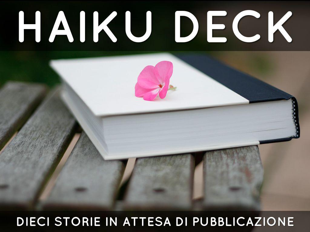 Haiku Deck in azione
