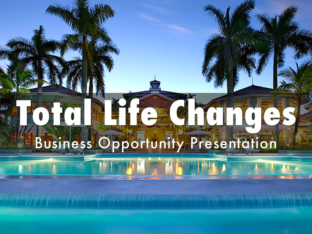 TOTAL LIFE CHANGES - THE COMPANY