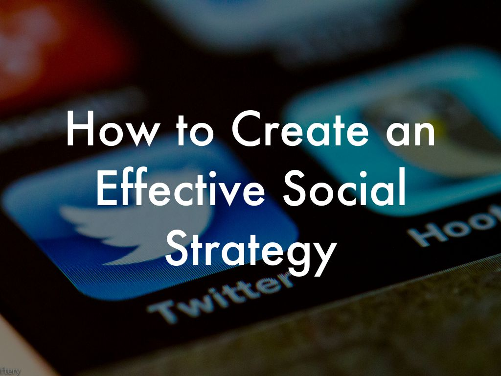 Copia de How to Create a Social Media Strategy