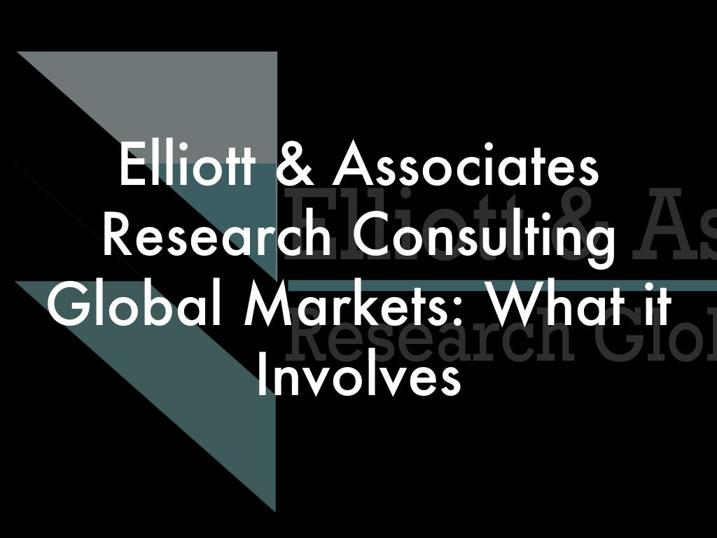 elliott associates research consultin Elliott & associates, ltd is a fully licensed private investigation agency serving all of new mexico from its base of operations in albuquerque from the four corners area to the southern border with mexico, our investigators have conducted investigations in just about every town and village in the state.