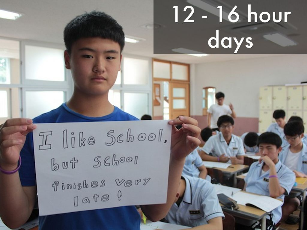 South Korea's schools: Long days, high results