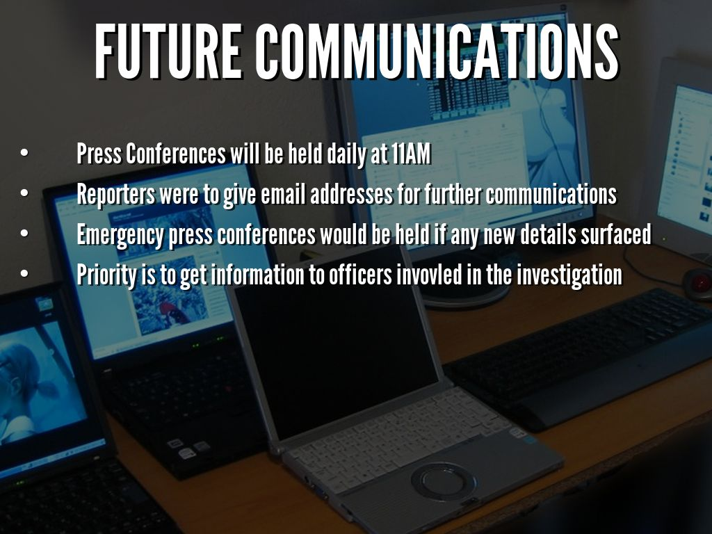 future communications Future: communications shows us the -brave new world- that lies just around the corner, and asks a series of searing questions regarding whether or not the human species is prepared to evolve at the same pace.
