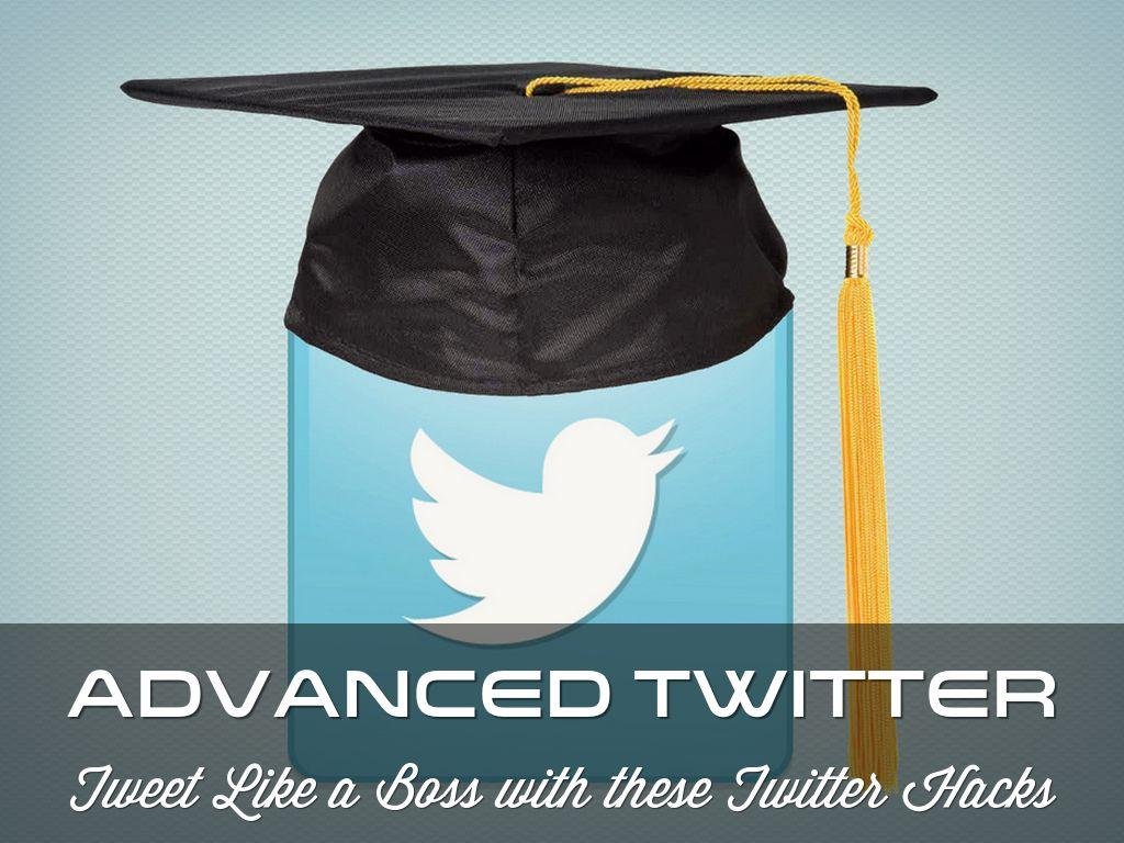 Advanced Twitter