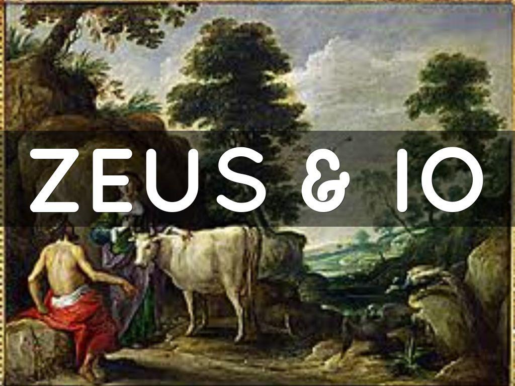 zeus hera & little io by 4704765