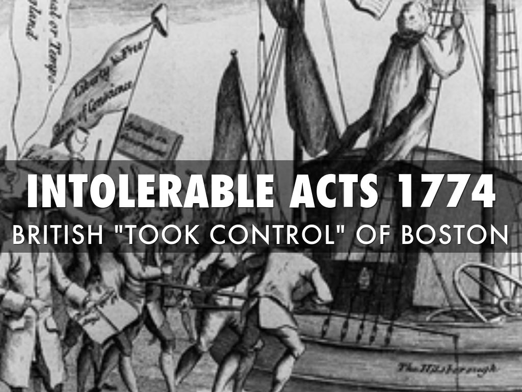 Events That Lead To The The Revolutionary War by