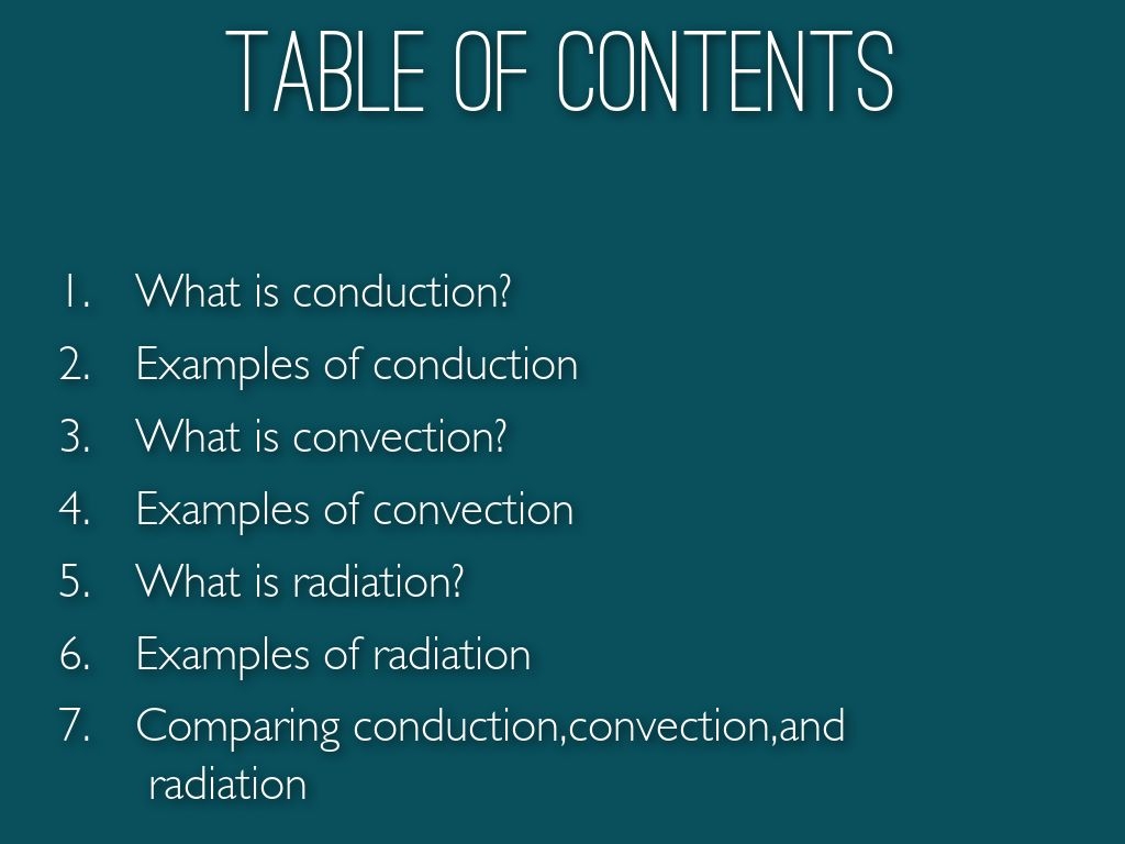 Compare Conductionconvectionand Radiation By Emma