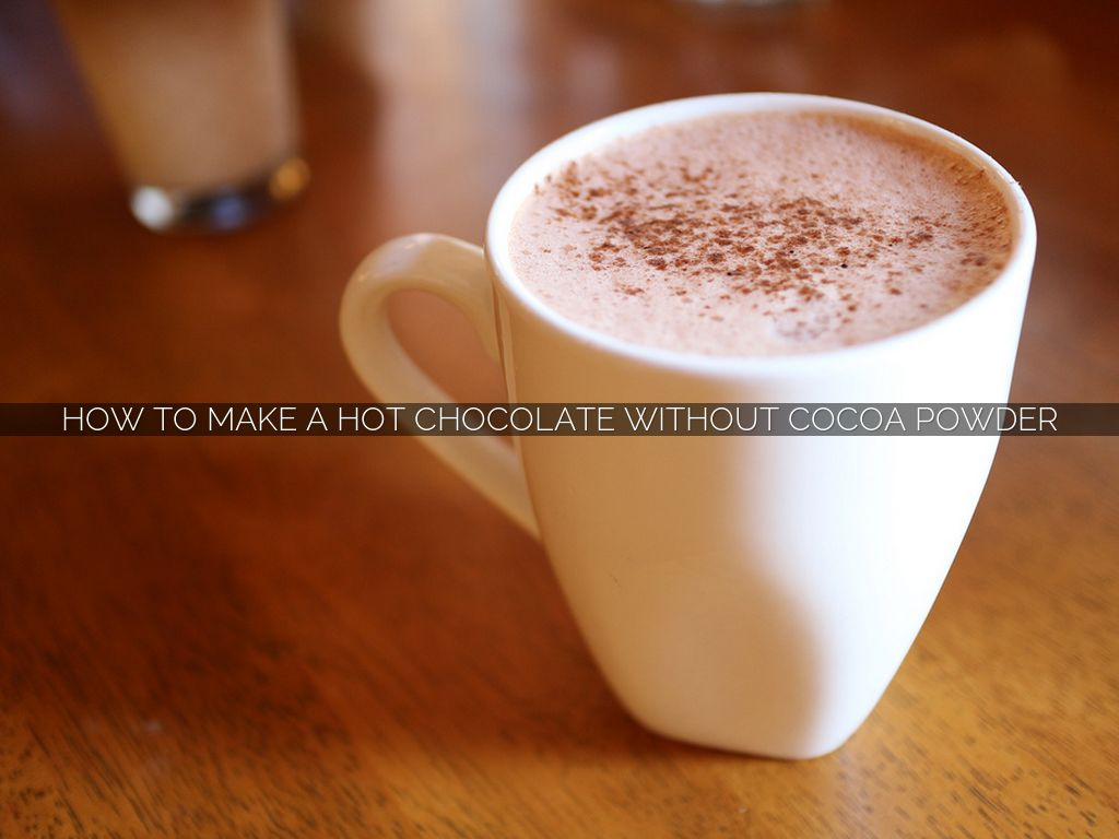 Making Hot Chocolate With Kettle