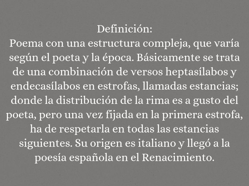 Definiciones Literarias By Merrii Carmona