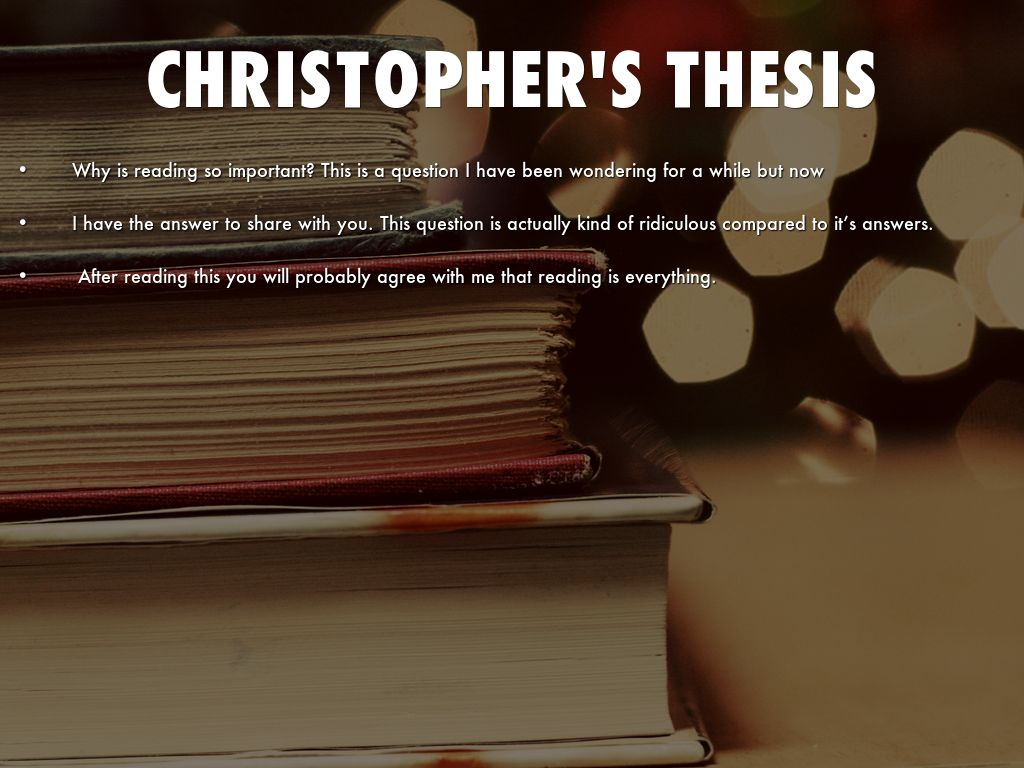 christopher dark thesis Essay one day: do my university assignment with nationwide network of resume writers.