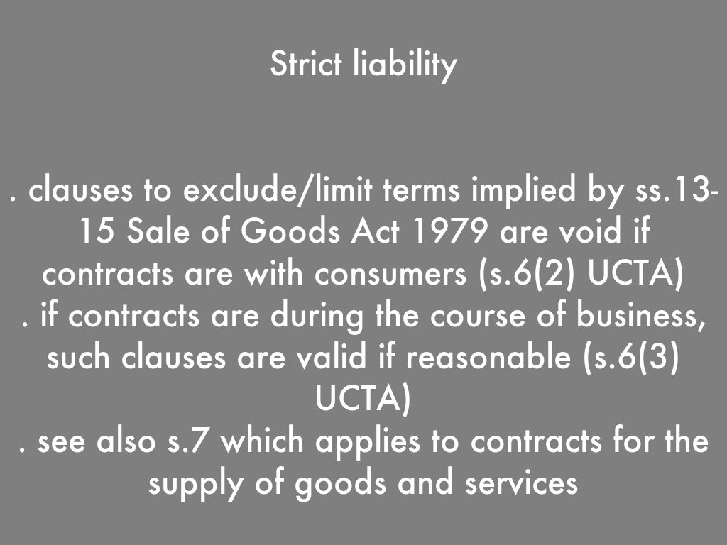 types of exclusion clause A widely drafted exclusion clause is the centrepiece of many contracts recent  which it forms part19 and giving due weight to the context in which the clause.