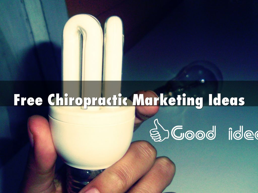 free chiropractic marketing ideas by wtbusiness