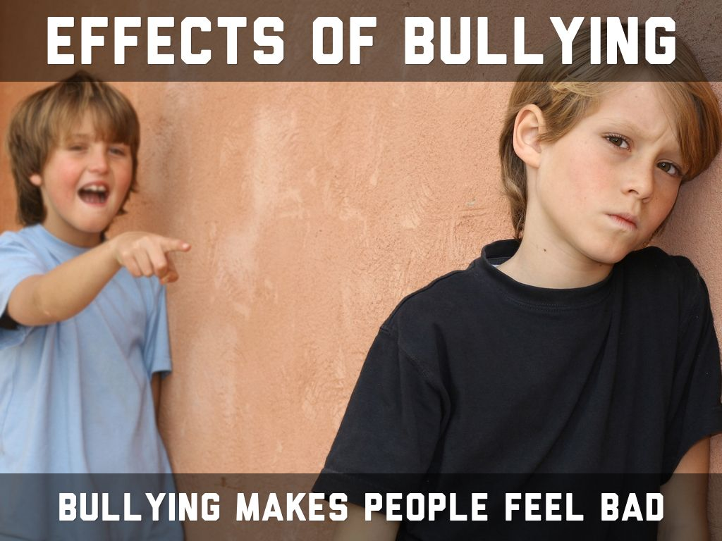 bullying affects children and adults Bullying in schools can affect children in many different ways many experts believe that bullying victimization is a type of toxic stress that stays with the victim even in the adult lift toxic stress can change a child's physiological responses and put them at an increased risk of developing health.