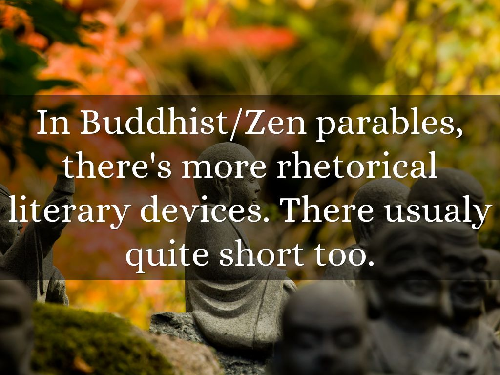 Zen Parables and World Ethics