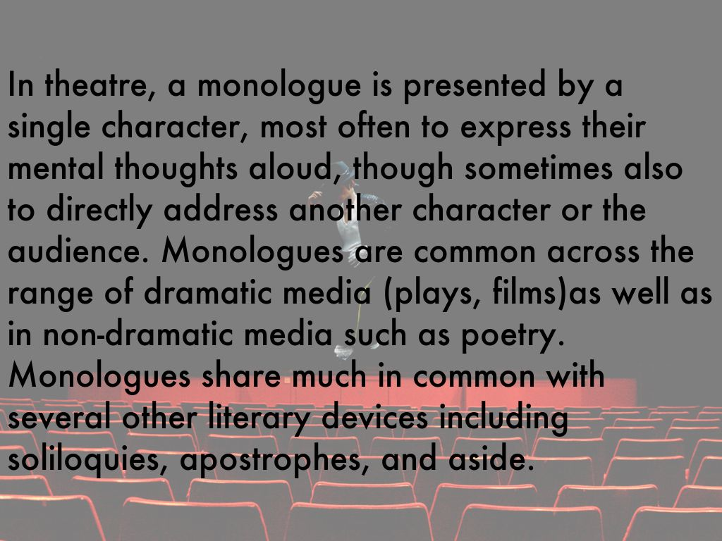 What is a monologue by maha noor what is a monologue ccuart Image collections