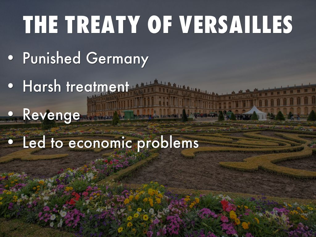 germany punished treaty versailles