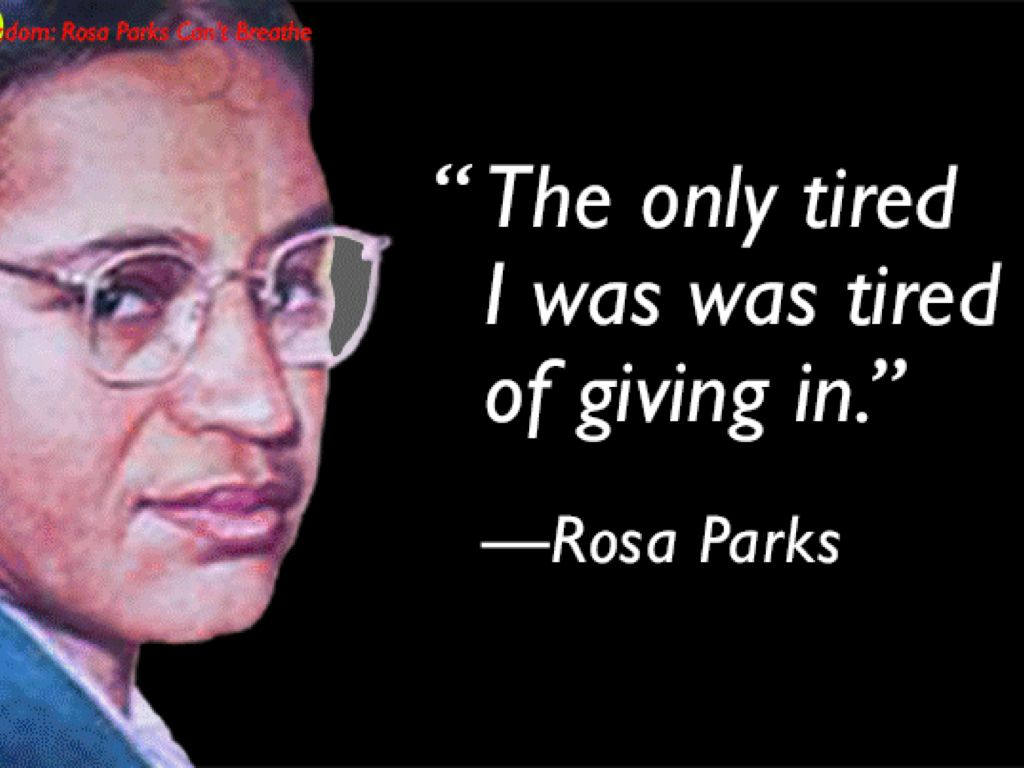 Rosa Parks By Destiny Paxton