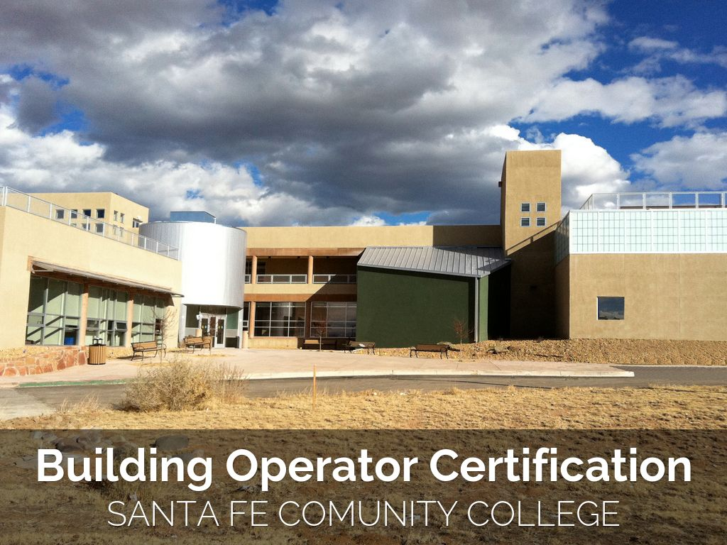 Building Operator Certification by Amanda Hatherly