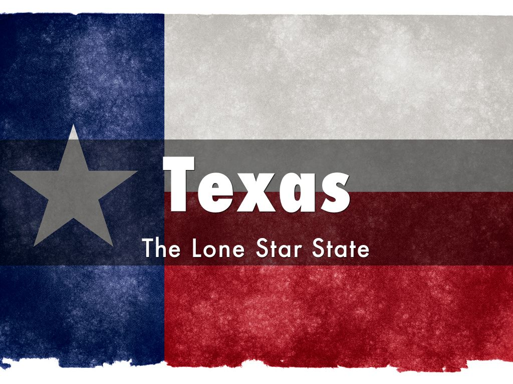 Texas By Ijhostetler - Why is texas called the lone star state