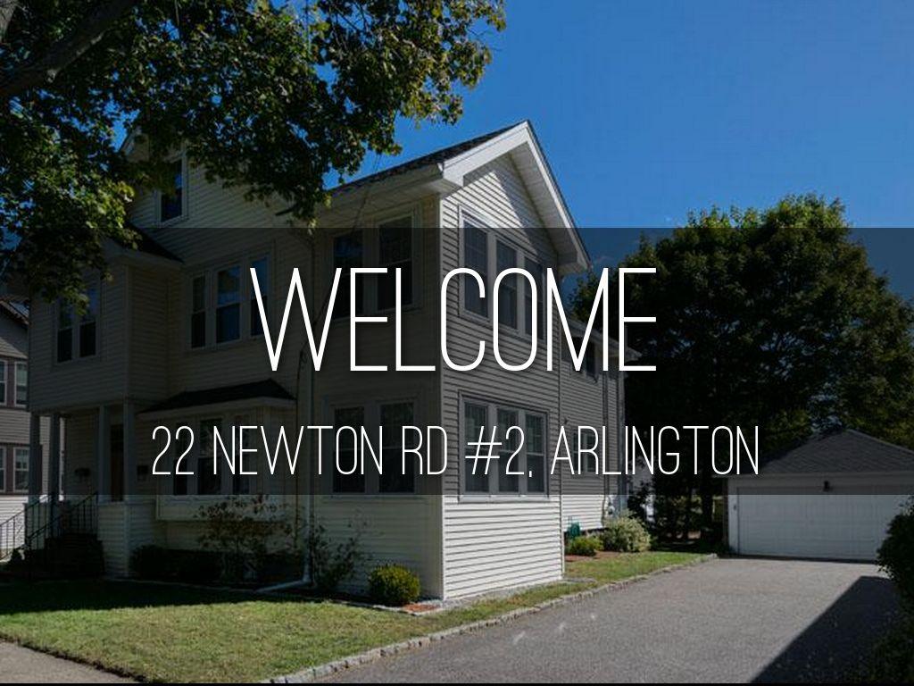22 Newton Rd #2, Arlington