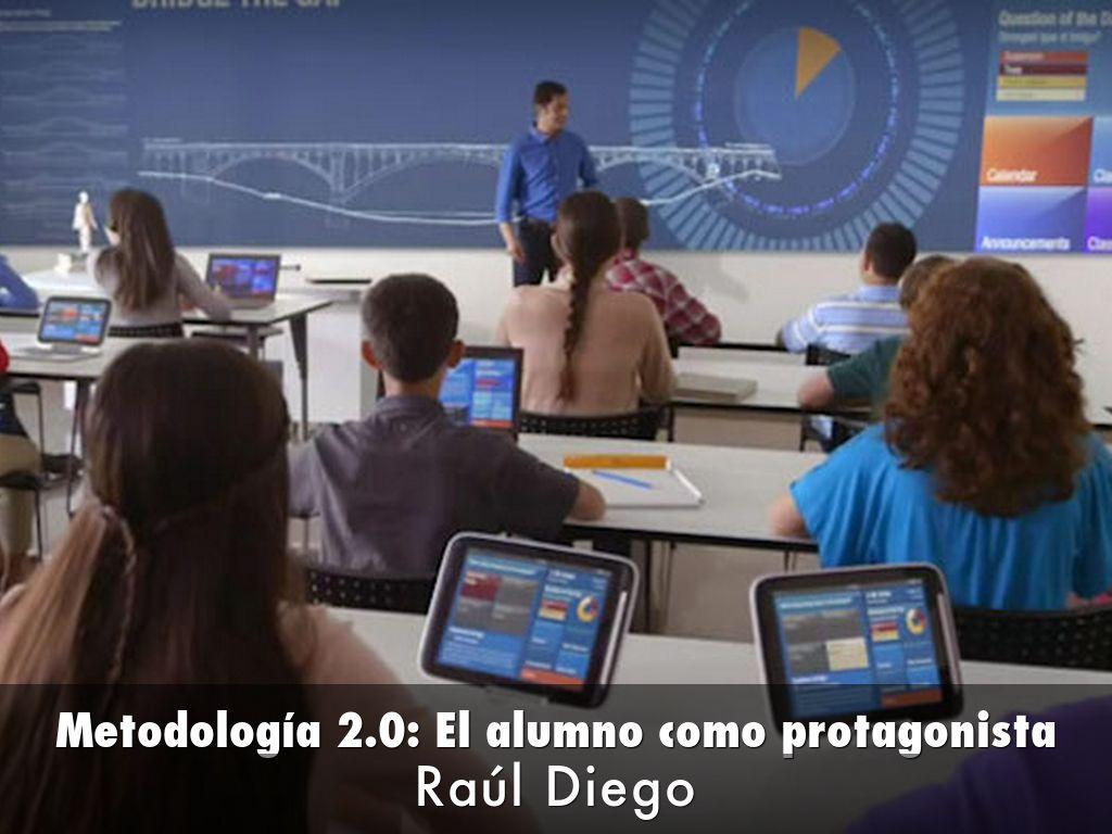 METOLOGÍA 2.0: EL ALUMNO COMO PROTAGONISTA