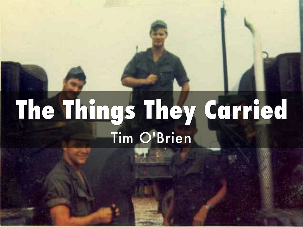 the things they carried treatments for Start studying the things they carried by tim o'brien study guide learn vocabulary, terms, and more with flashcards, games, and other study tools.