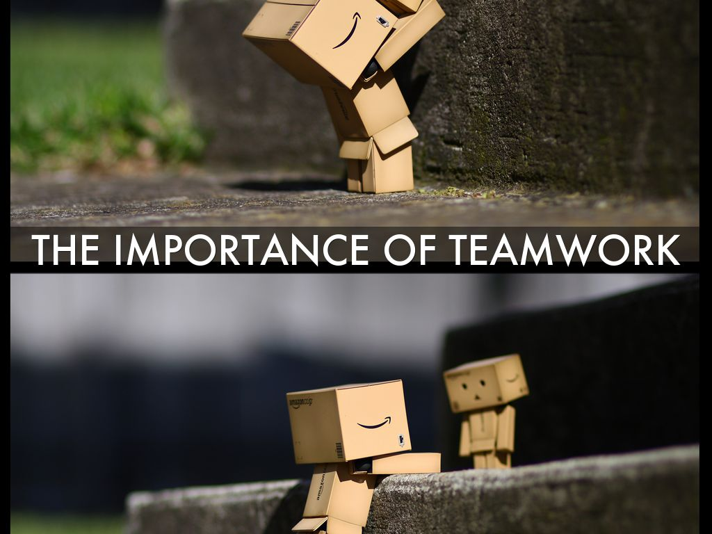 the importance of teamwork by Lorena Orio