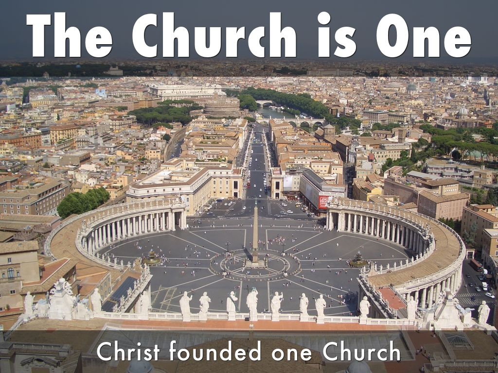 The Four Marks of the Church: by Poornima DSouza