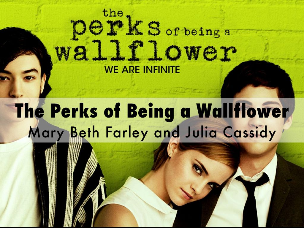 the perks of being a wallflower The perks of being a wallflower is a 2012 romantic drama/indie film starring logan lerman,erza miller and emma watson and tells the tale about an introvert named.