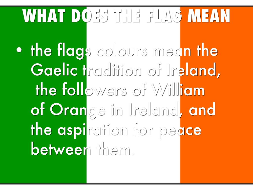 What Do The Colors Mean On The Irish Flag Madagascar