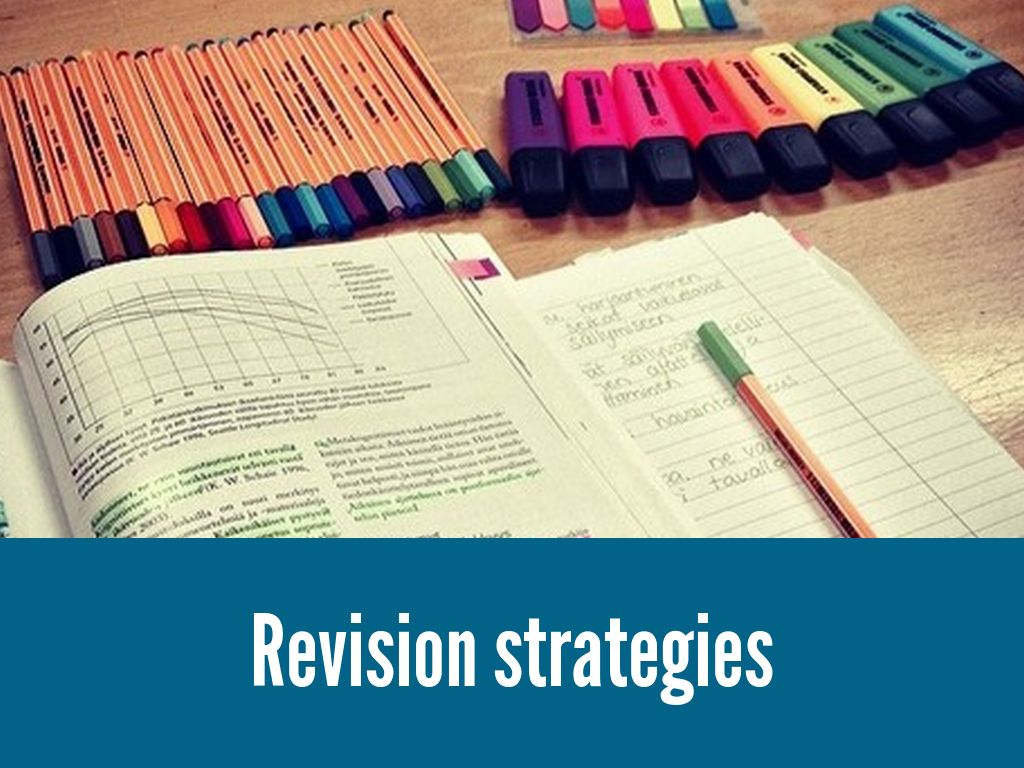 Copy of Revision strategies