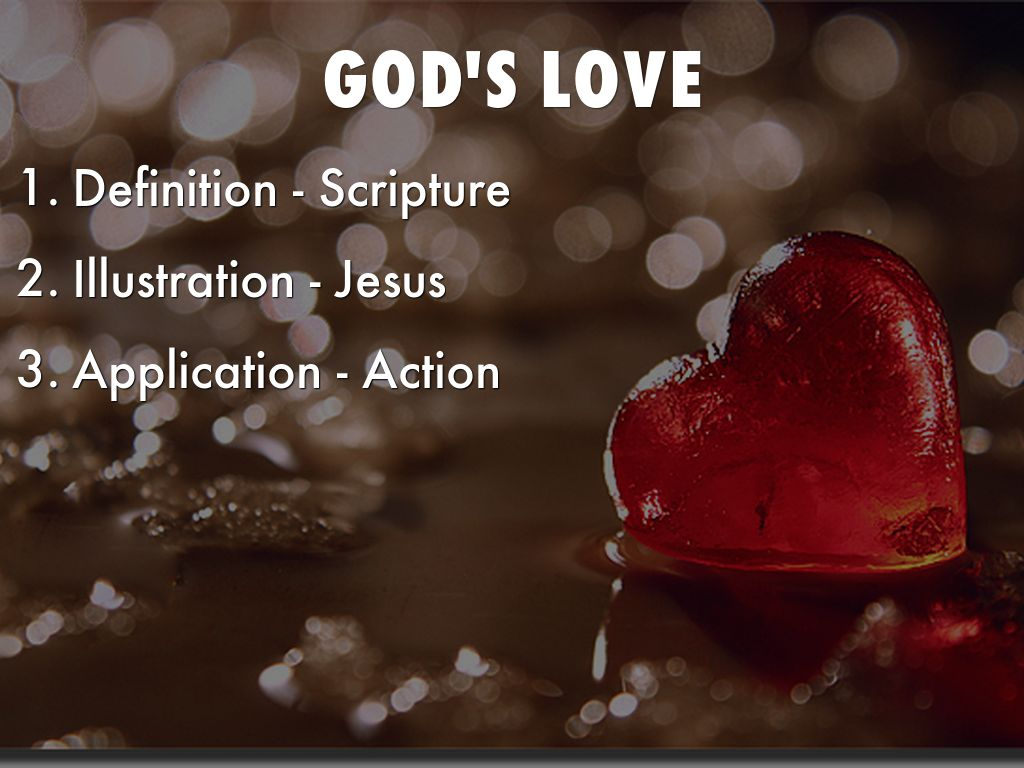 god's love by michael cadrette