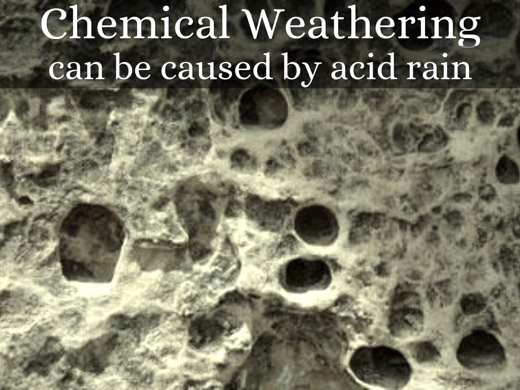 chemical weathering Weathering is a set of physical, chemical and biological processes that alter the physical and chemical state of rocks and soil at or near the earth's surfacechemical weatheringis the process by which rocks are decomposed, dissolved or loosened by chemical processes to form residual materials.