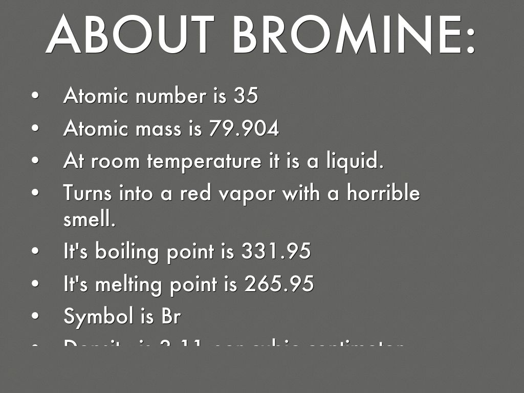 Bromine the superhero by kristnee romero about bromine biocorpaavc