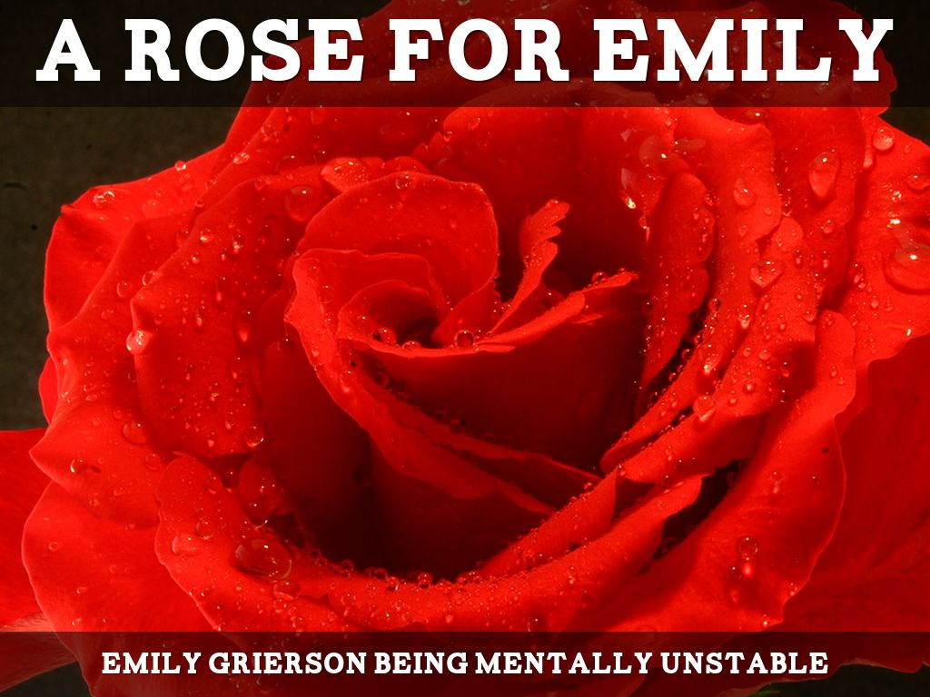 a rose for emily memorable short This funeral moment at the beginning of the story sets up the divisions that exist between emily and the town this sets the framework for emily's isolation in life by talking about her funeral.