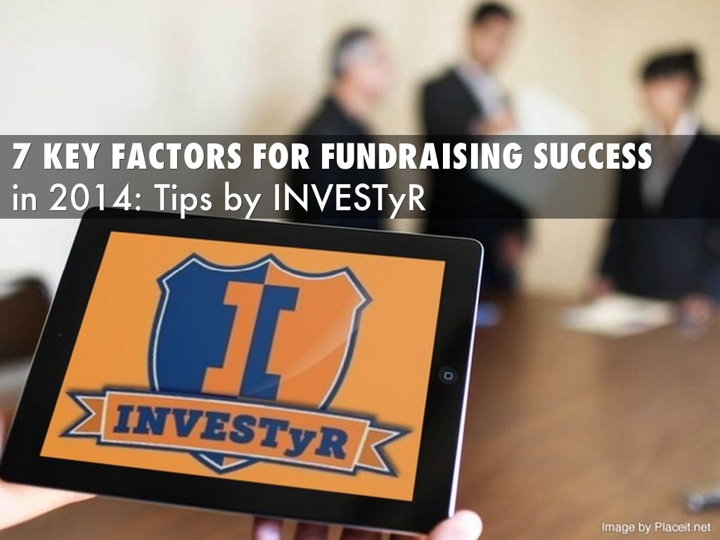 7 Key Fundraising Success Factors