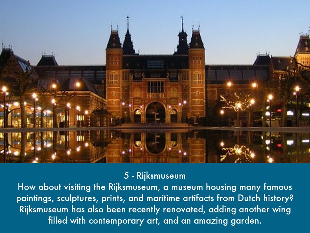 Top 10 Attractions In Amsterdam by adafeh209