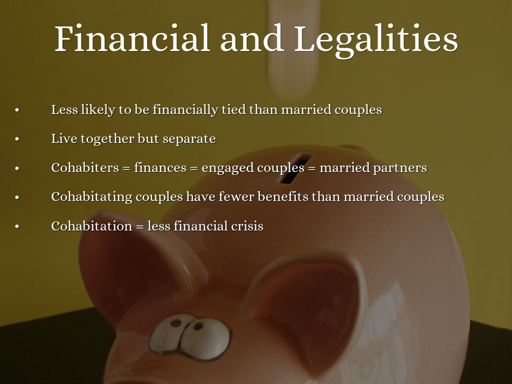 Cohabiting before marriage pros and cons