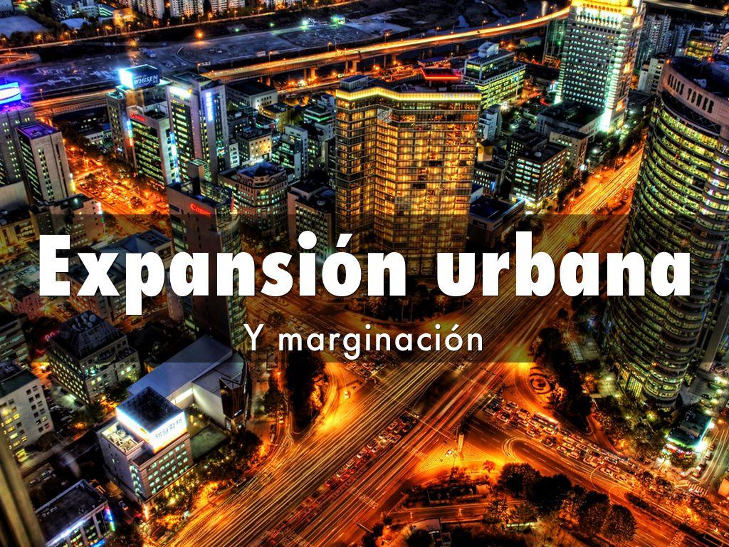 Expansión urbana