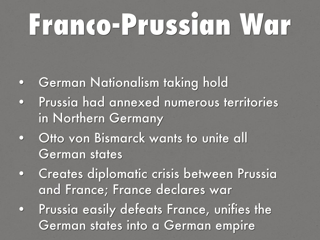 otto von bismarck germanys unification In his memoirs, otto von bismarck depicted himself as the great master-planner  behind the unification of germany there is no doubt as to whether bismarck.