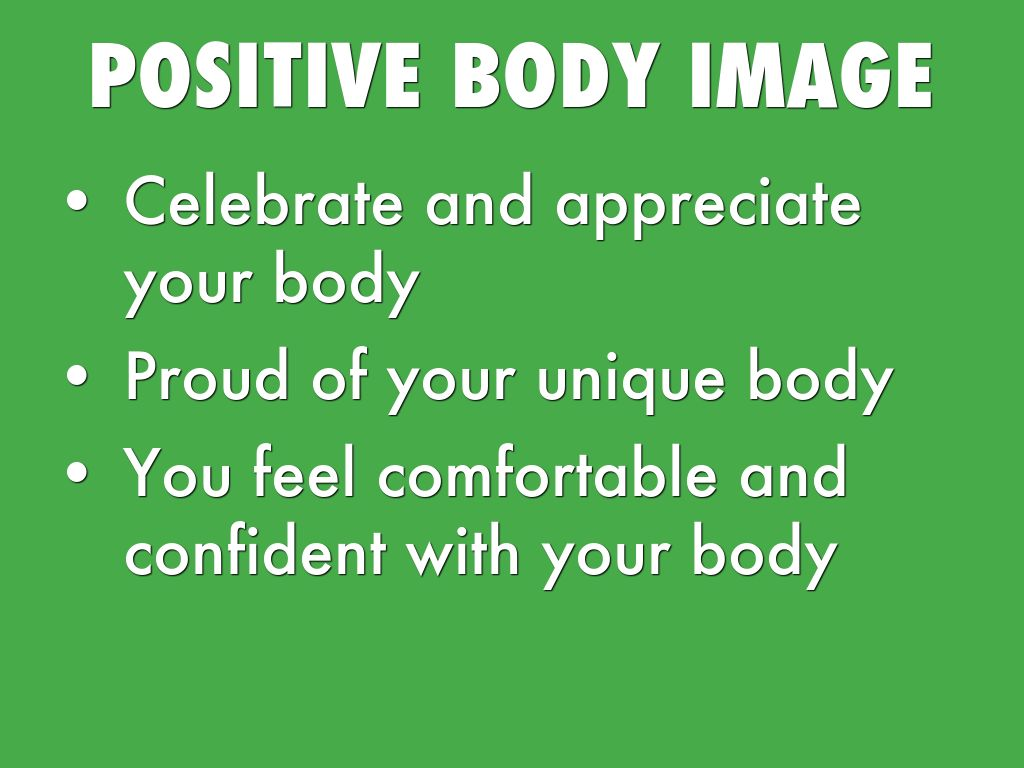 positive body image essay Get access to argumentative essay on media effect on body image essays only from anti essays listed results 1.