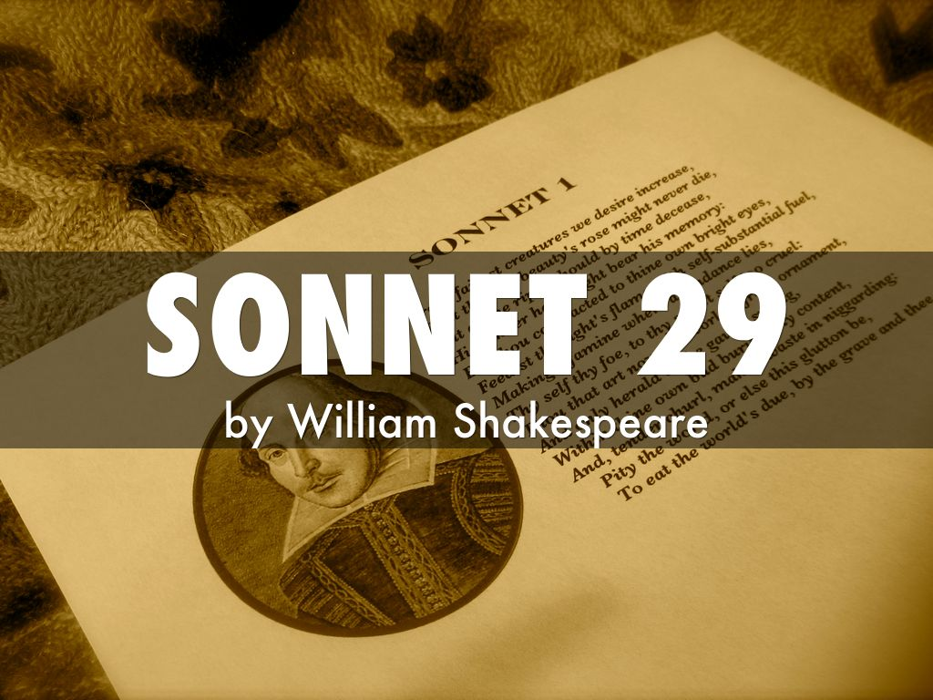 sonnet 29 by hthompso