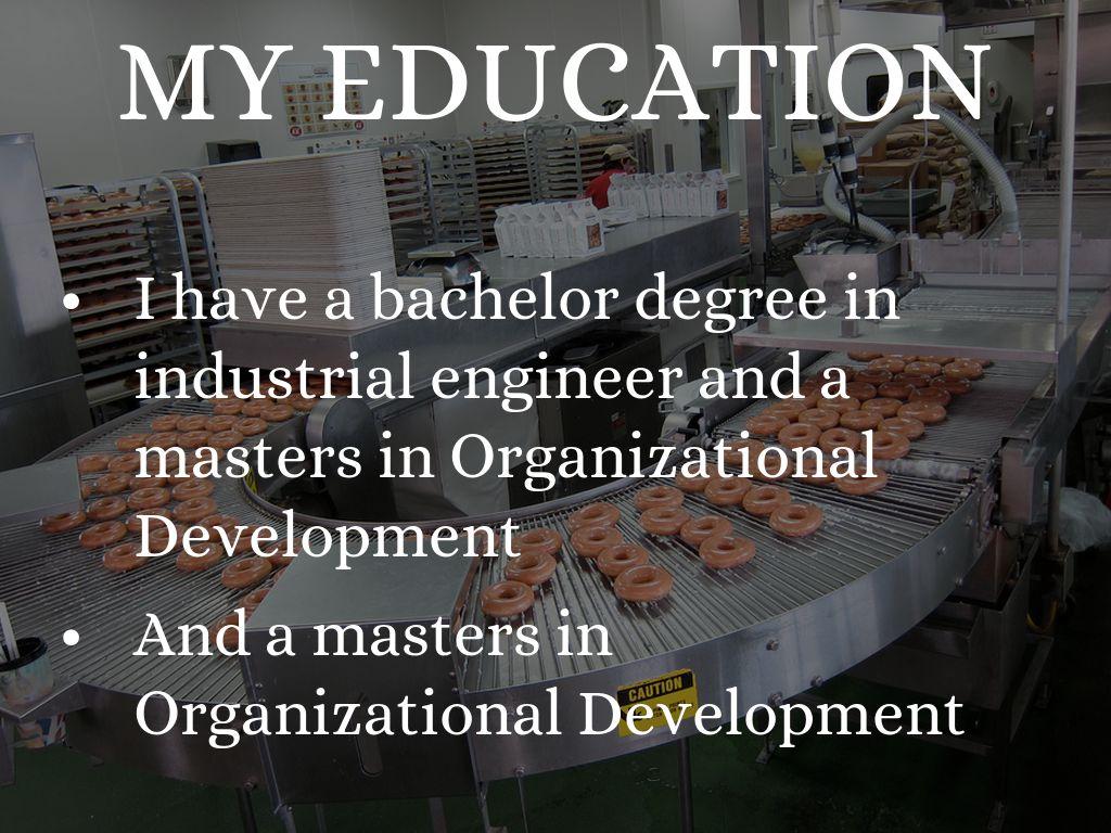 my educational journey