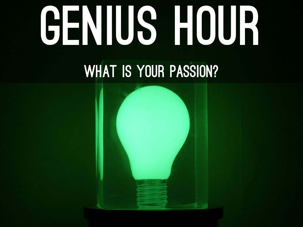 Genius Hour by Amy Behlke