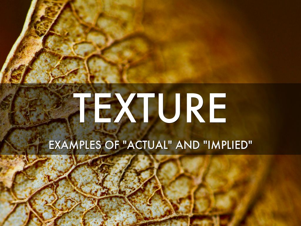 Texture by Loreal Frye